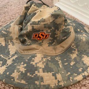 Oklahoma State Bucket Hat Camo